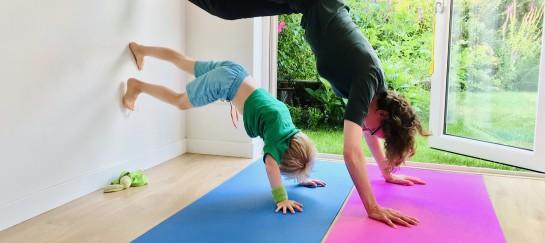 Ouder & kindyoga en mindfulness workshop | Driebergen | kleuter 4 5 6 jarige0