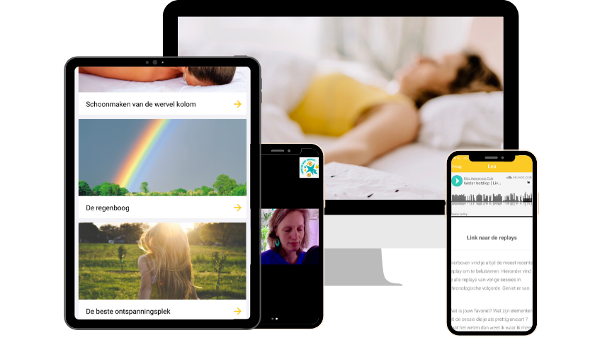 Ontspannen moeder live en online audio's in het Nederlands