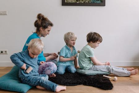 Spelend ontspannen met je kind