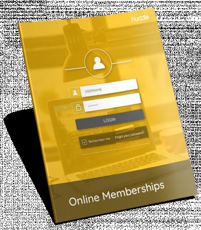Online lessen delen met lidmaatschap wederkerende inkomsten verkrijgen