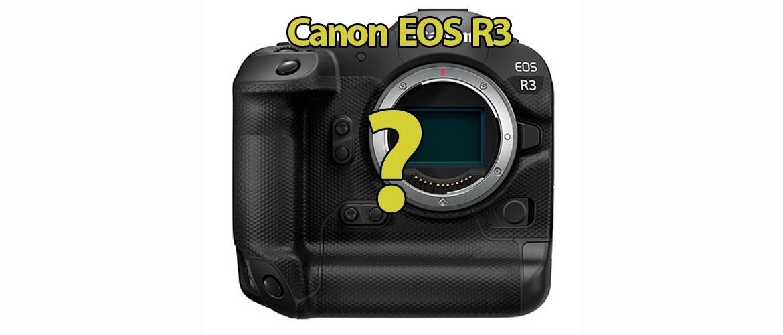 Canon EOS R3 Systeemcamera (verwacht)