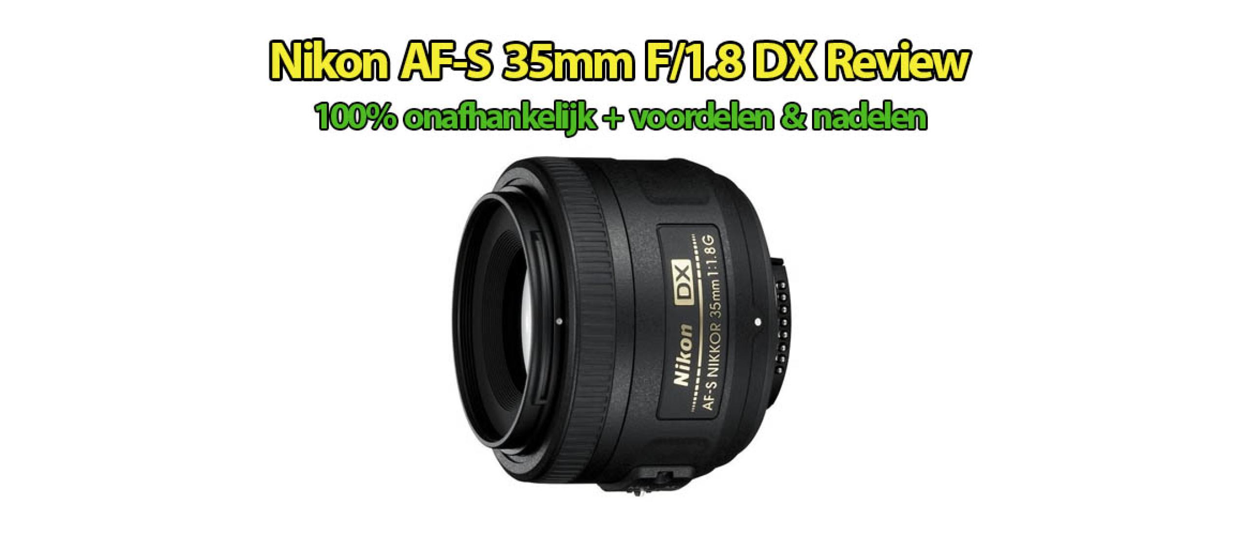 Nikon AF-S 35mm f/1.8G DX Review