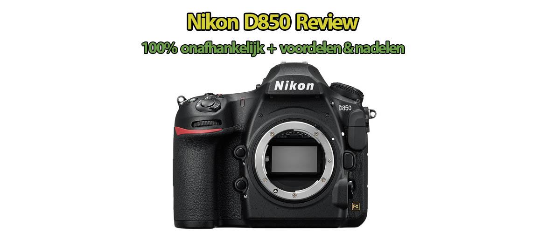 Nikon D850 spiegelreflexcamera review