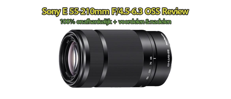 Sony E 55-210mm f/4.5-6.3 OSS Review