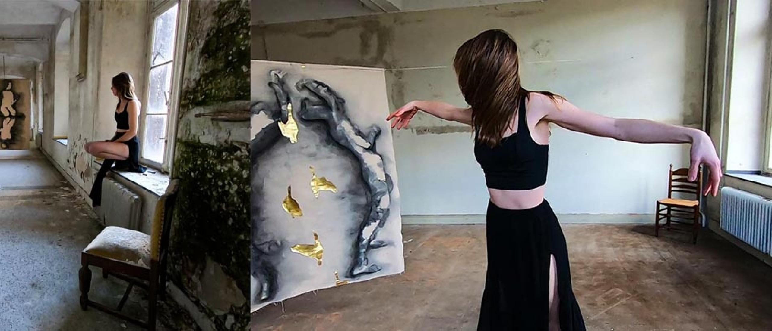 Fine art fotokunst & Eindexpositie kunstacademie Amanda van der Lugt