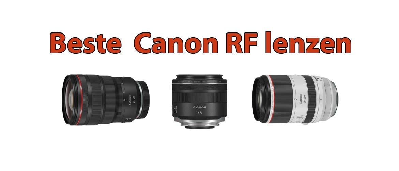 Beste Canon RF Lens