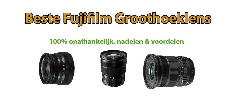 Beste groothoeklens voor Fujifilm systeemcamera