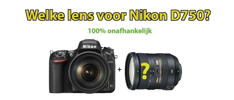 Beste Lens voor Nikon D750