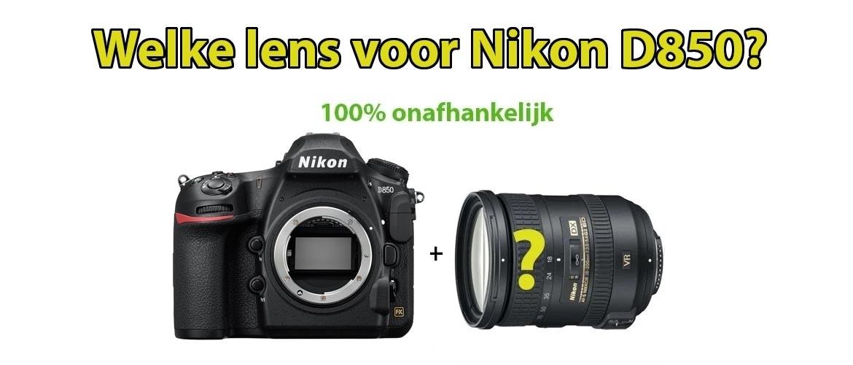 Beste Lens voor Nikon D850