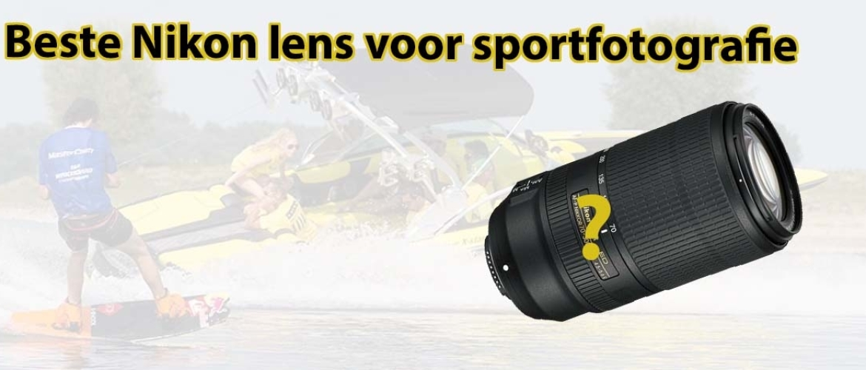 Beste Nikon sportfotografie lens