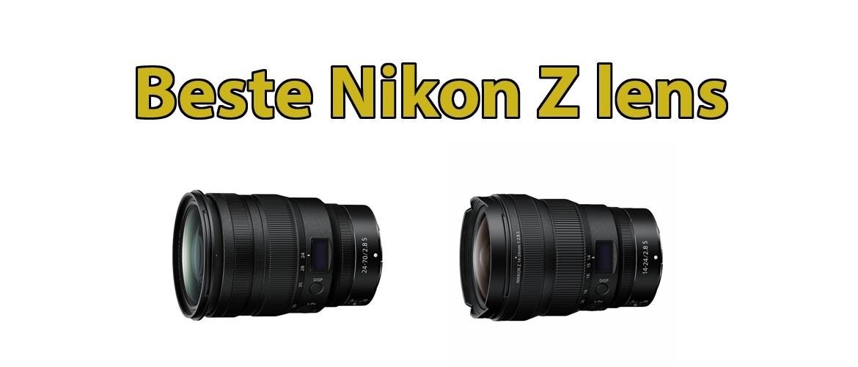 Beste Nikon Z lens
