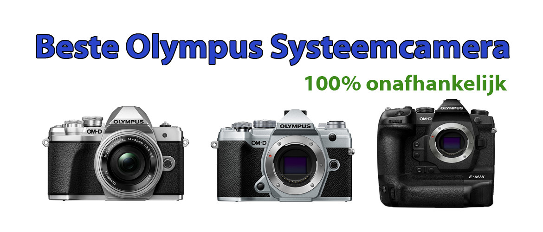 Beste Olympus systeemcamera