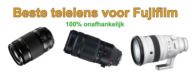 Beste telelens voor Fujifilm systeemcamera