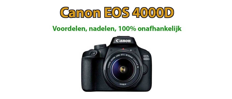 Canon 4000D Review