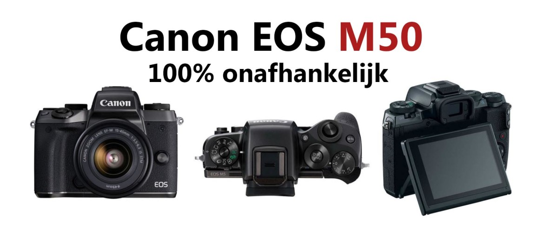 Canon EOS M50 systeemcamera Review: voordelen & nadelen
