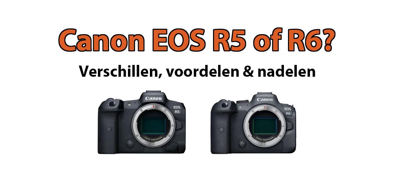 Canon EOS R5 of R6?