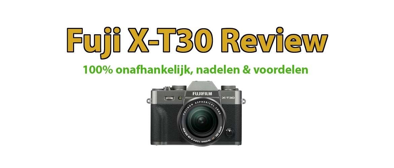 Fujifilm X-T30 Systeemcamera Review