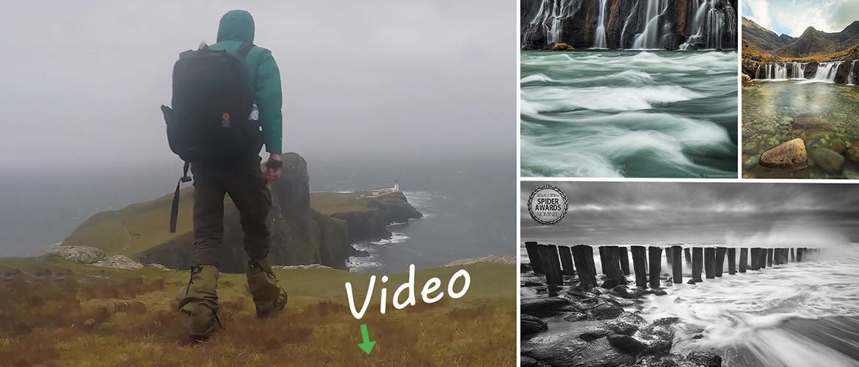 VIDEO Kustfotografie: 4 jaar in 2,5 minuut (man van water...)