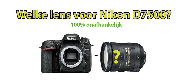Beste lens voor Nikon D7500
