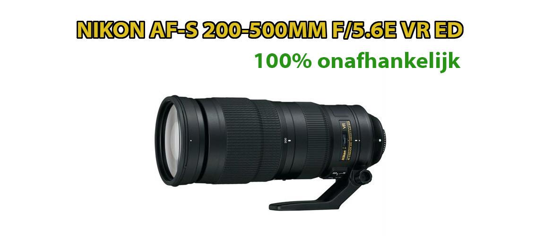 Nikon AF-S 200-500mm F/5.6E ED VR Lens Review