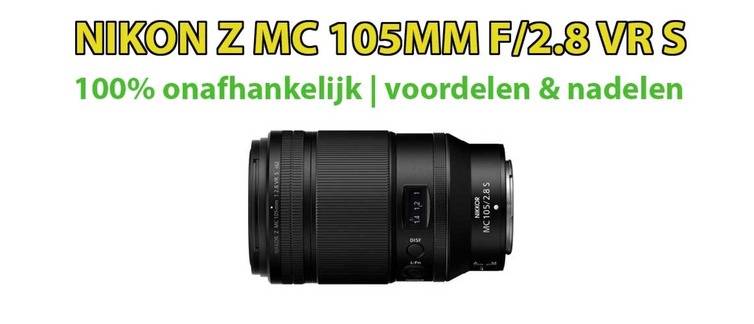 Nikon Z mc 105mm f/2.8 VR S macro lens review