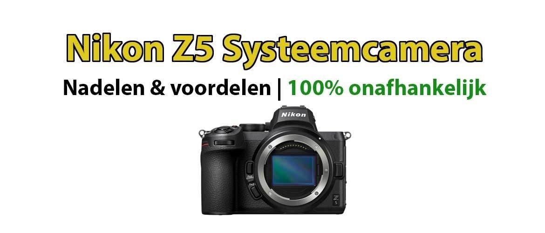 Nikon Z5 systeemcamera
