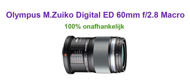 Olympus M.Zuiko Digital ED 60mm f/2.8 Macro review