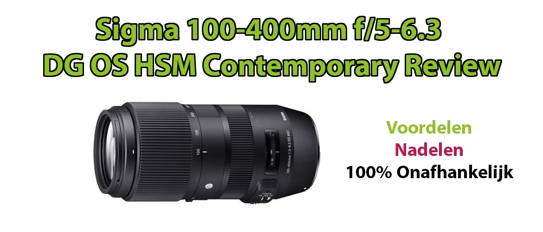 Sigma 100-400mm f/5-6.3 DG OS HSM Contemporary review