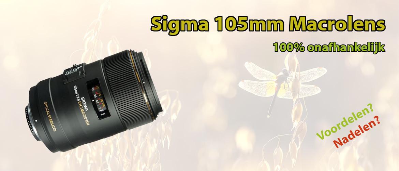 Sigma 105mm F/2.8 EX DG Macro OS HSM Review
