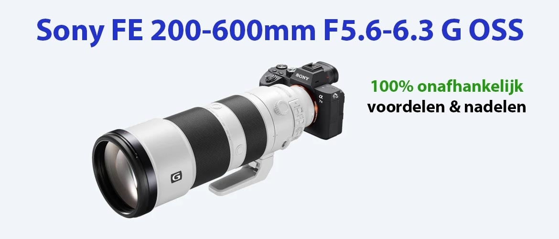 Sony FE 200-600mm f/5.6-6.3 G OSS review