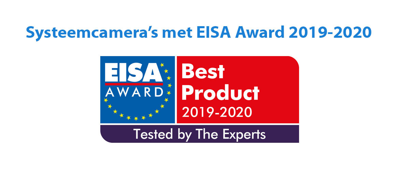 Systeemcamera's met EISA Award 2019-2020