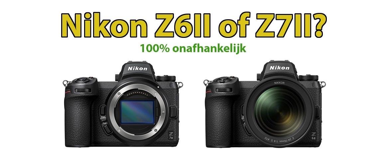 Verschil tussen Nikon Z6 II en Z7 II