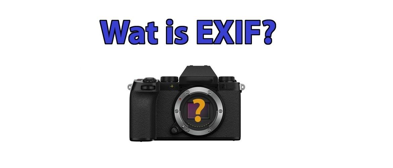 Wat is EXIF?