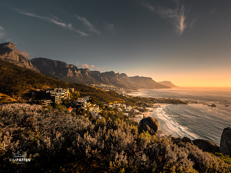 Sunset Photography Camps Bay Cape Town