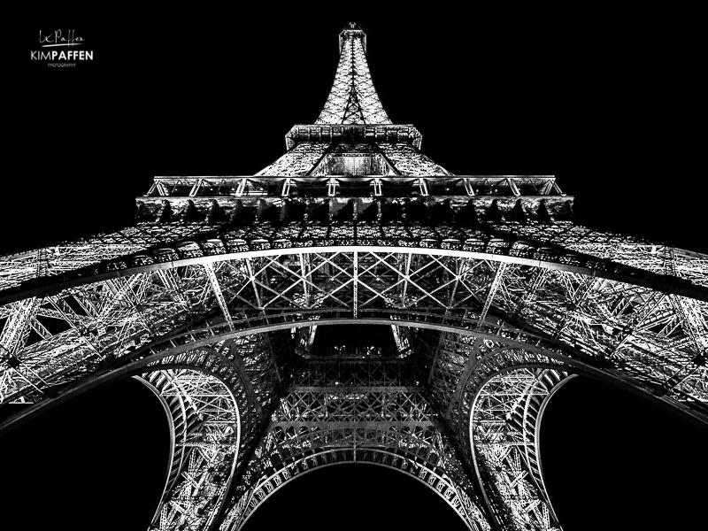 Architecture Photography: Eiffel Tower Paris