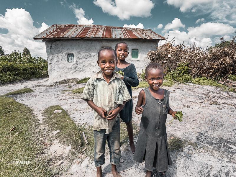 Family of survivor Punishment Island Uganda