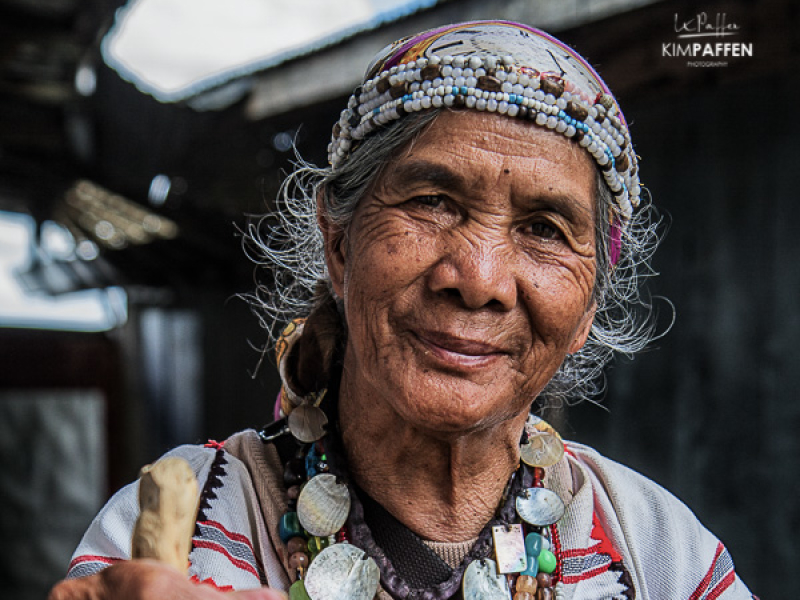 Ifugao woman, Northern Luzon Philippines