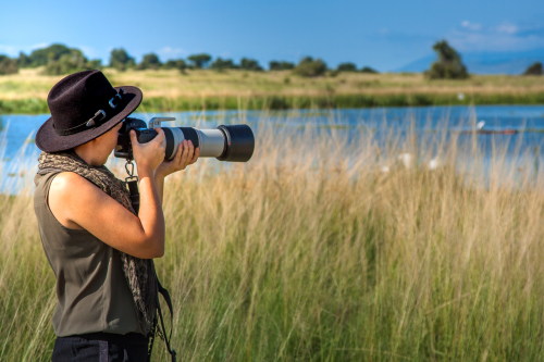 Kim Paffen wildlife photographer, content creator and photography coach