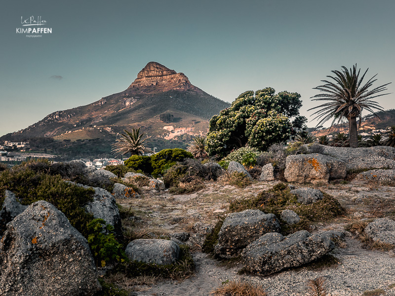 Landscape Photography Camps Bay Cape Town: view on Lions Head