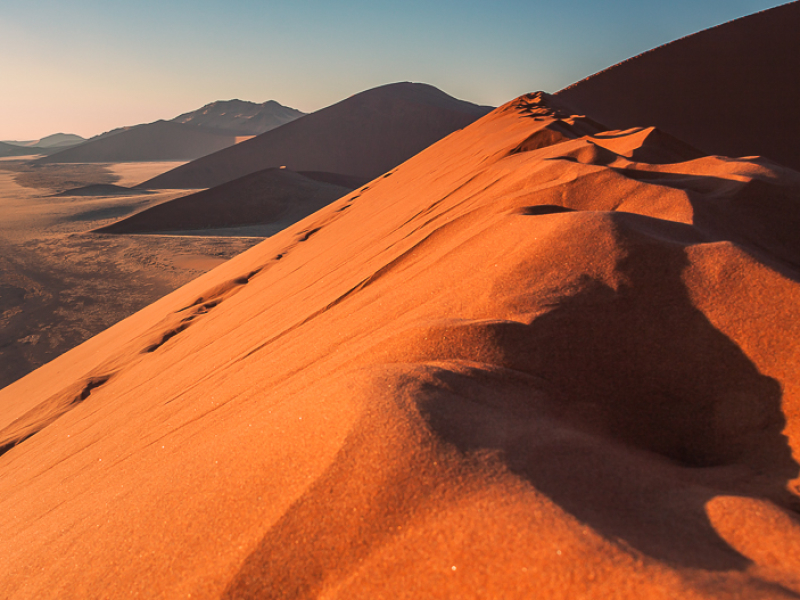 Namibia Photography: Red Dunes Sossusvlei