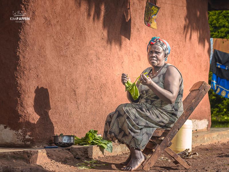 People photography: Ugandan Woman from Sipi