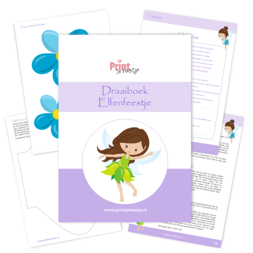 draaiboek elfen kinderfeestje - print je feestje