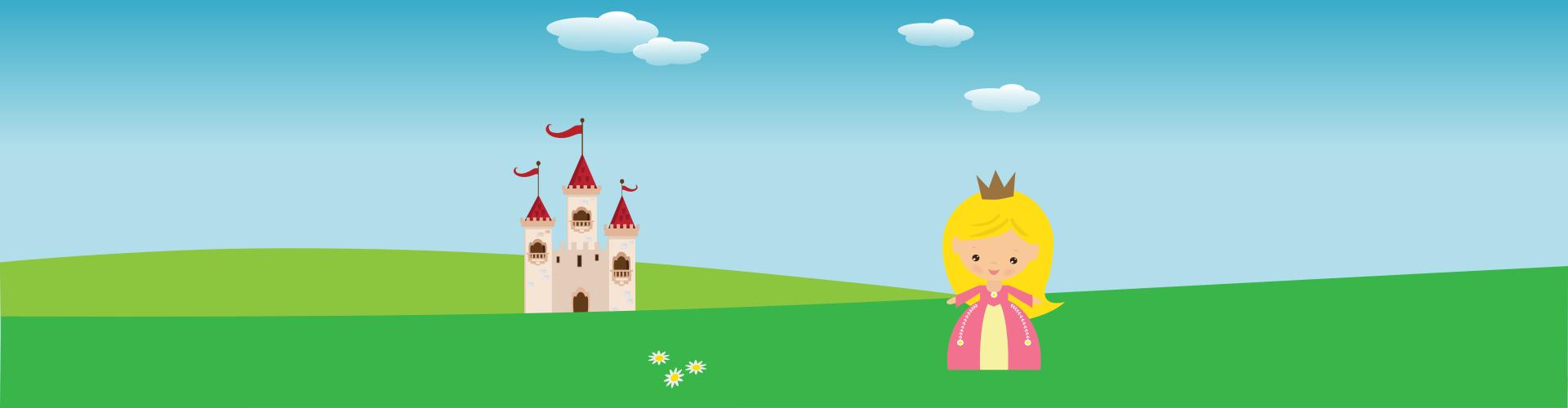 prinsessen speurtocht kinderfeestje - print je feestje