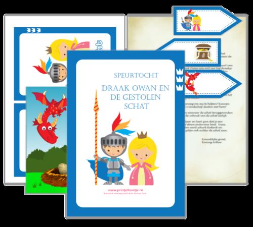 speurtocht kinderfeestje ridders draaiboek