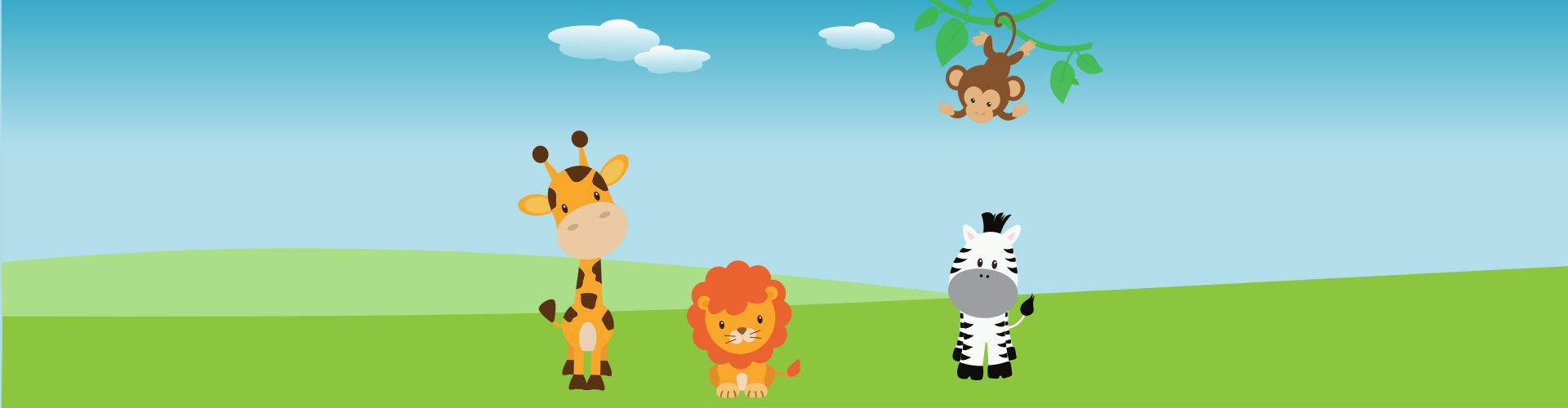 speurtocht safari kinderfeestje