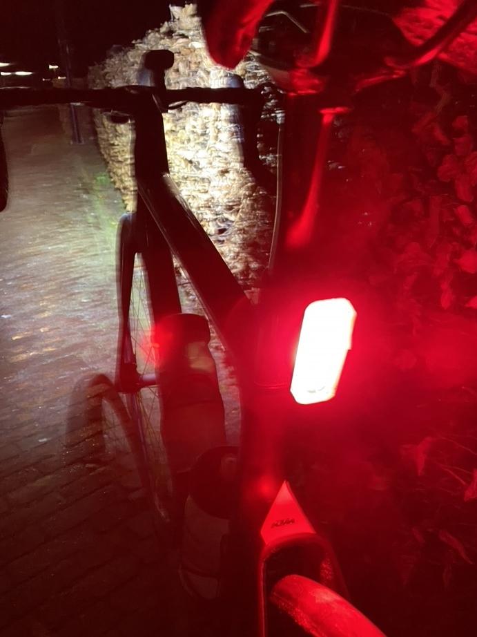 Ravemen fietsverlichting indruk
