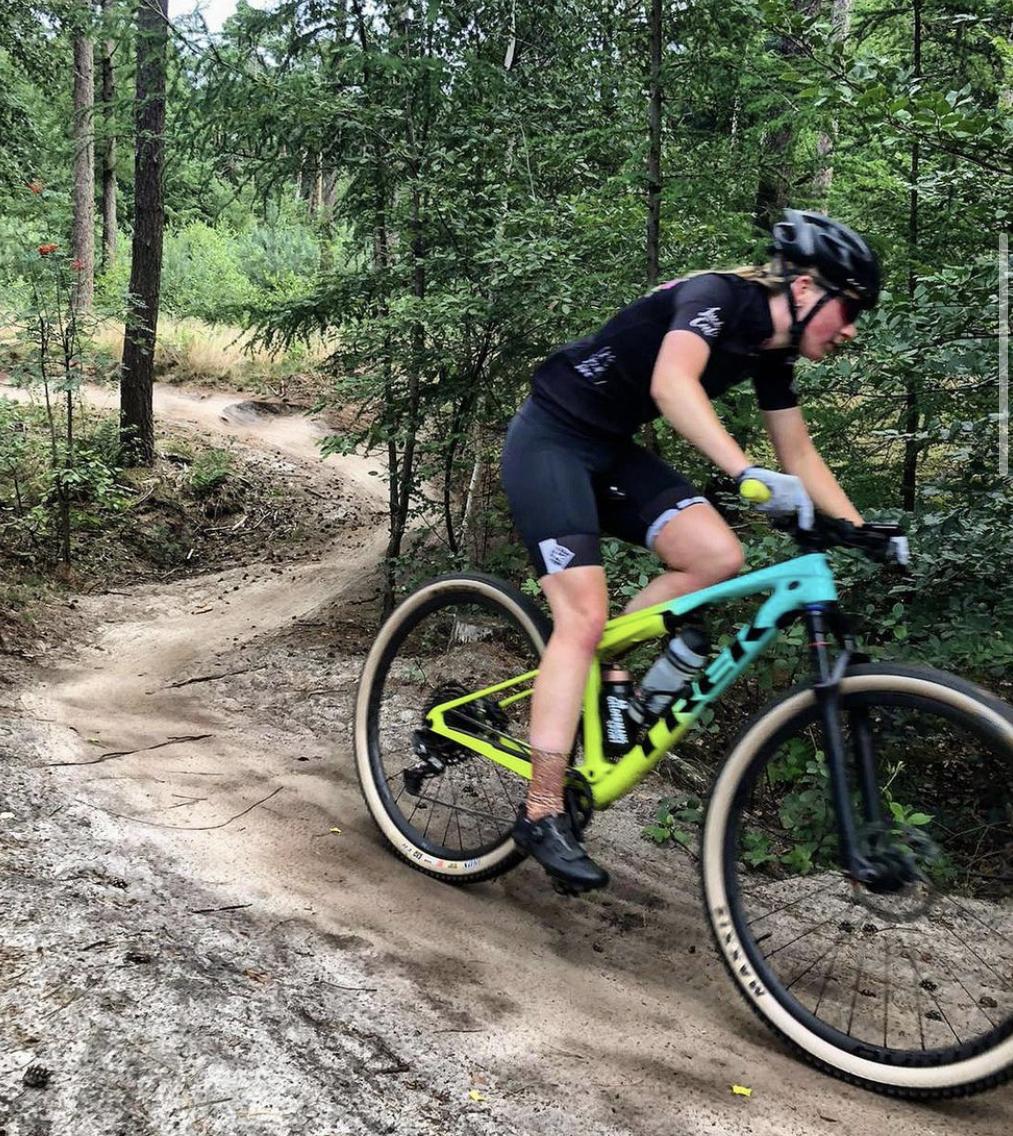 Amanda Noordover Mountainbike