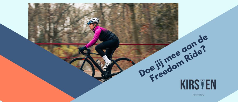 Doe jij ook mee met de Freedom Ride?