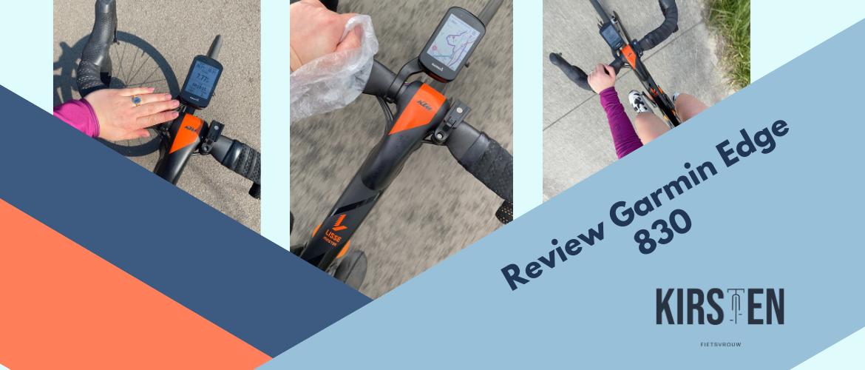 Review: Garmin Edge 830