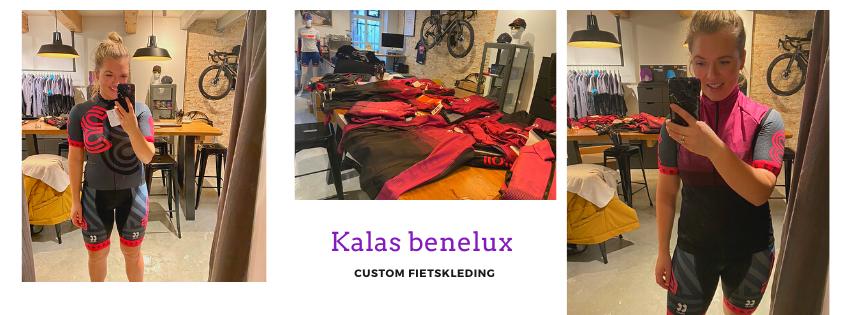 Custom fietskleding voor vrouwen bij Kalas Sportswear